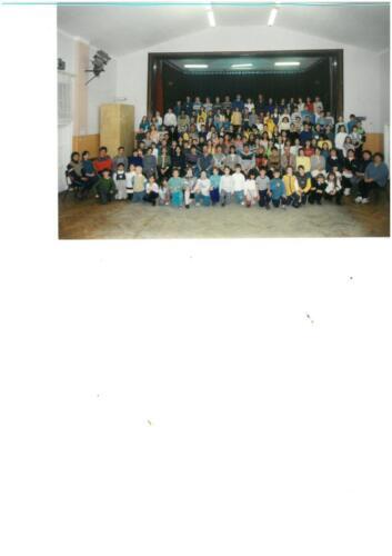 Az iskola tanulói és dolgozói 2000-ben