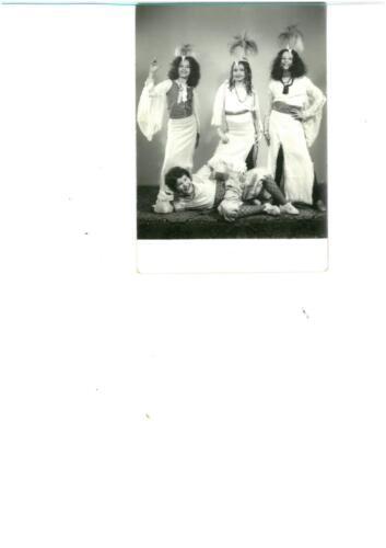 Farsangi bálon Boney M-nek öltözve (1981)