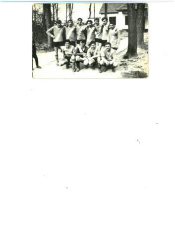 Foktői focicsapat 1968-ban
