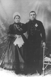 Esküvői kép 1910-es évek