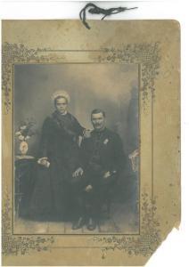 Esküvői kép a századfordulóról