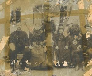 Foktői család 1899-ből