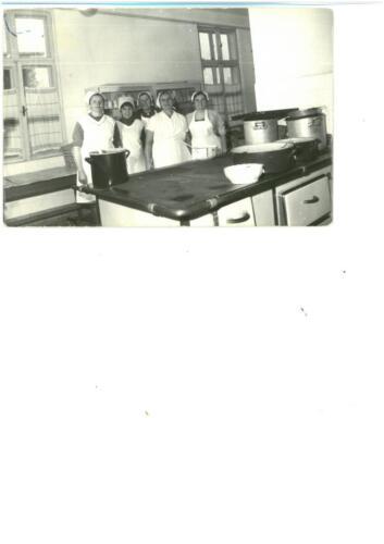 A konyha dolgozói