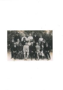 Esküvői csoportkép 1940-es évek
