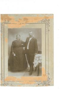 Foktői házaspár 1910 körül